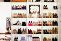 my walk in wardrobe one day