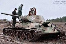 Beute Panzer T-34