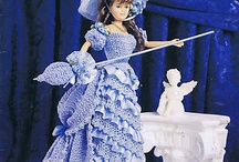 crochet collecters costume gown