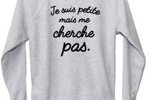 Sweat à messages