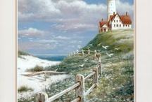 lighthouses / by Maureen Plastridge
