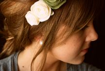 Hair accessories diy