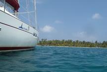 travels / Islas de St.Blas,Panamà, de isla en isla en velero. Un velero que da la vuelta al mundo, expedición KT3D.
