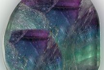 Creativity / Fluorite, Amazonite