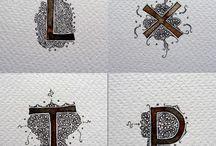 kalligrafie Benoit Furet