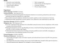 resume for work