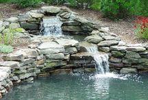 폭포 연못