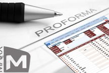An introduction to Proforma Invoice feature / MAXX : A Software that assists you at every step of your Business.  An introduction to Proforma Invoice feature: Proforma Invoice is not a true invoice. It is simply a document that is sent to the buyer's in certain Proforma will not be recorded in stocks as well as accounts. It's just a dummy Invoice copy or a Quotation or Estimate Memo.