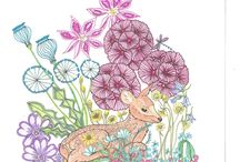 Coloring Pages Tangle Wood Jessica Palmer