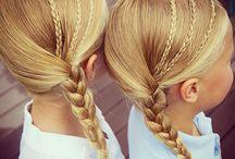 Kids Girls hair