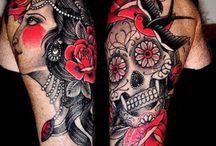 Gipsy Pin Up Tattoo