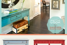 Get the Look! by Santa Fe Rustics / Have you ever seen something in pinterest and wondered where to get it? Here it is! #SantaFeRustics helps you to get the look for your home! Furniture with natural warmth.