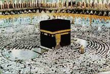 Hajj (Pilgrimage to Mecca) / One of the five pillars of beautiful Islam. A pilgrimage to Mecca during Dhu'l Hijja, considered obligatory for every Muslim who is capable of undertaking it at least once in his or her life.