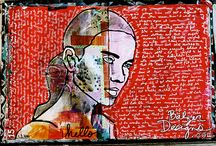 art journaling... / by Susie Carranza Studio