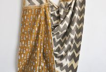 Saree / SAREE- we have hand block printed soft cotton sarees. it has beautiful prints on it.  grab them online : www.chhapa.in