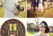 Sophie's bohemian wedding
