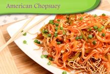 American Chopsuey / What can be more grand this tasty plate full of American Chopsuey that offers a blast of flavors in mouth!!