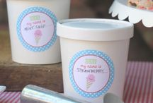 Ice cream birthday party / by Wendy Farrell