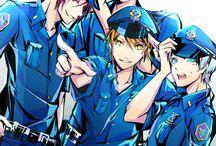 Free❣ / Iwatobi Swim Club and Eternal Summer. Official art, fanart, anime, manga