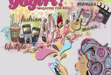 Gogirl Illustration