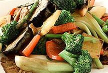 vegetable recipes / by Michele Johnson