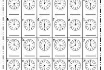 óra, o'clock