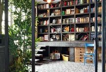Home office/library