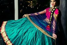 The Glamour of India / Indian Glamour. Saris, lenghas, weddings, mehndhi, etc.