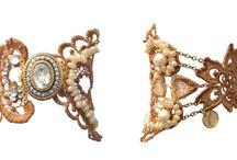 #weddingbraceletes / Bracelets designed for a wedding but for other events also.