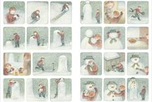 Raymond Briggs illustrations