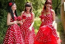 RETRO Weddings / Ideas, inspiration, decorations, invitations and of course, dresses!
