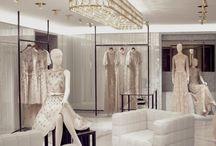 Fashion Showrooms / Stores / Visual merchandising