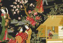 "Oriental Traditions 8 by Robert Kaufman / Robert Kaufman Fabrics - ""Oriental Traditions 8"""