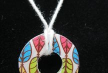 Paper craft jewelry