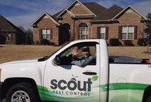 Scout Pest Control / This board is about all things Scout Pest Control. From techs, to tips, service projects to special deals. If you want to know more about Pest Control, or about Scout Pest Control and the way we choose to do business, this is a good board to follow!