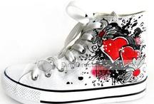 scarpe dipinte