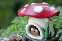Polymer Fairy garden