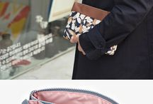 pouch and bag