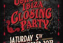 Ibiza club posters