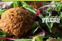 Spring Fresh Campaign / A fresh 'build your plate' menu and discounted juices for spring.