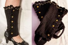 Crochet Legwarmers & Boot Cuffs