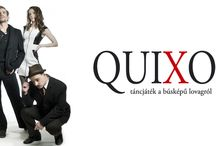 QuiXote / Táncjáték a búsképű lovagról.  Quixote - Lukács Ádám Koreográfus-Rendező: Kozma Attila