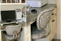 Home Office Decorating Ideas / DIY Home Office Decorating and Decor