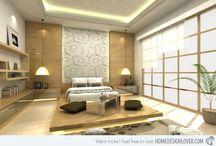 Hálószobák / Lakberendezés, hálószobák
