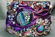shibori cuff bracelet