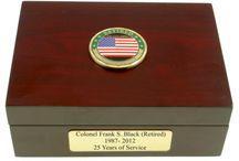 retired military keepsake gift