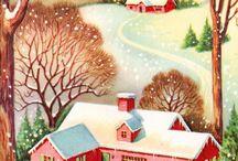 Vintage Christmas / by Mandy Morrow