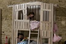 """The Tree House / Hector & Queen's innovative handmade Tree House Bunk Bed is a """"must have"""" piece of furniture for any child's bedroom and allows you to create that totally unique and stylish look whilst your child discovers endless new adventures!"""