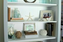 Home: Bookcase Styling