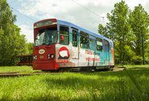 Reklama na tramwajach / Nasze realizacje reklamowe na tramwajach